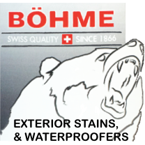 Böhme, stain, exterior, deck, low VOC, water-based, Vermont coatings